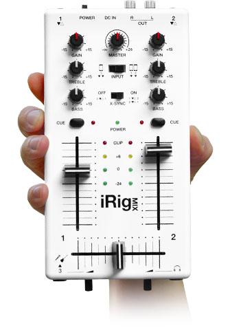Mixer DJ dans votre main