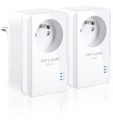 TP-LINK TL-PA2015PKIT - Kit de 2 adaptateurs CPL 200 avec prise ¬.