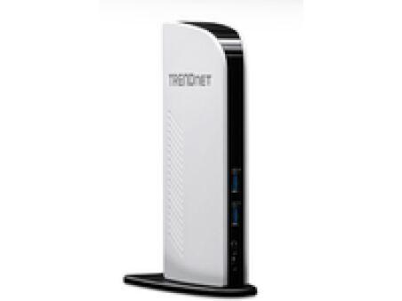 TRENDnet TU3-DS2 - Docking Station USB 3.0/Gigabit/HDMI/DVI