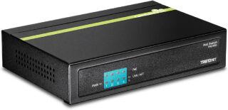 TPE-S50 - Noir Switch PoE 5 ports Ethernet