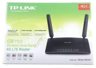 Archer MR 200 - Noir Router 4G LTE WiFi AC750