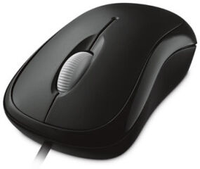 BASIC OPTICAL MOUSE BLACK souris
