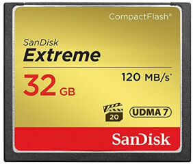 Carte Compact Flash - EXTREME COMPACTFLASH 32GB