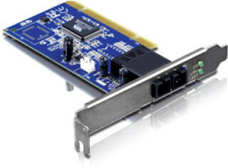 TE100-PCIFC - Noir Adaptateur PCI Fibre