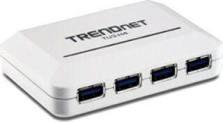 TRENDnet TU3-H4 - Hub 4 ports USB 3.0