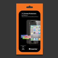 COVERTEC Screen Protector pour iPhone 4¬