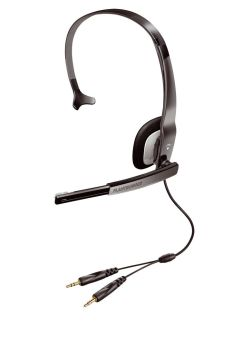 PLANTRONICS Audio 310 (micro-casque monaural + cde cordon)
