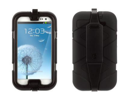 GRIFFIN Coque Samsung Galaxy S III ULTRA RESISTANTE - Survivor Black¬