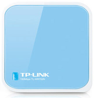 Nano Routeur Sans fil - TL-WR702N - Bleu Ciel