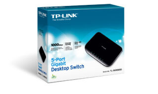 TP-LINK TL-SG1005D - Switch 5 ports Gigabit
