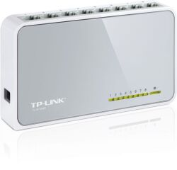 Switch 8 ports 10/100 Mbps - TL-SF1008D - Blanc